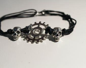 Commander/Heda Lexa Skull Headpiece - The 100 Skull Headpiece Bracelet