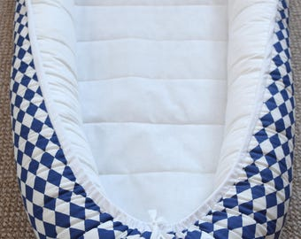 Ready to ship! Double - Sided Baby Nest for Newborns/Babies, co-sleeper, sleeping nest, baby pod