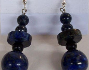 Blue Agate Drop Earrings,Jewelry,Gifts for her,Gift Ideas