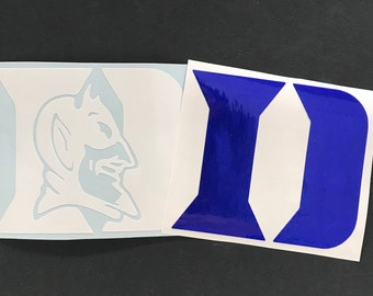 Duke University Decal, Duke Blue Devils Decal