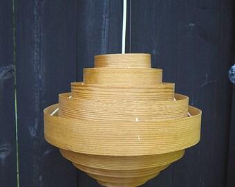 wood veneer lighting. veneer lamp vintage wood finnish design pendant light lighting