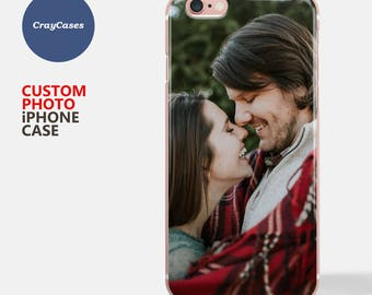 Photo iPhone 7 Case, Custom Photo iPhone 6 Case, Personalised Photo Phone Case, Samsung S7 Case, Custom iPhone 7 Plus Case (ships from UK)