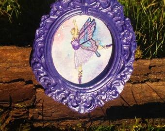 Ballerina Fairy Dollhouse Miniature Painting