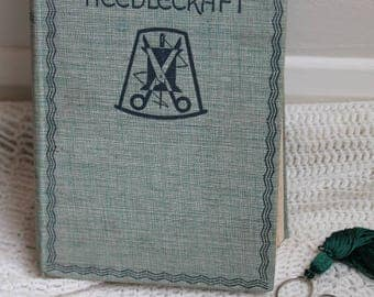 The Big Book of Needlecraft/Annie S. Paterson/1935/Odhams Press/ Vintage Sewing/Knitting/Crochet Book/Haberdashery (007R)