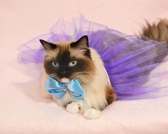 Costume for pet - tutu skirt costume for dog - costume for cat - tutu skirt for pet