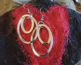 Silver Loops Earrings