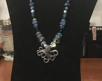 The Silver Octopus necklace