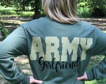 Army Girlfriend, Long Sleeve Tee