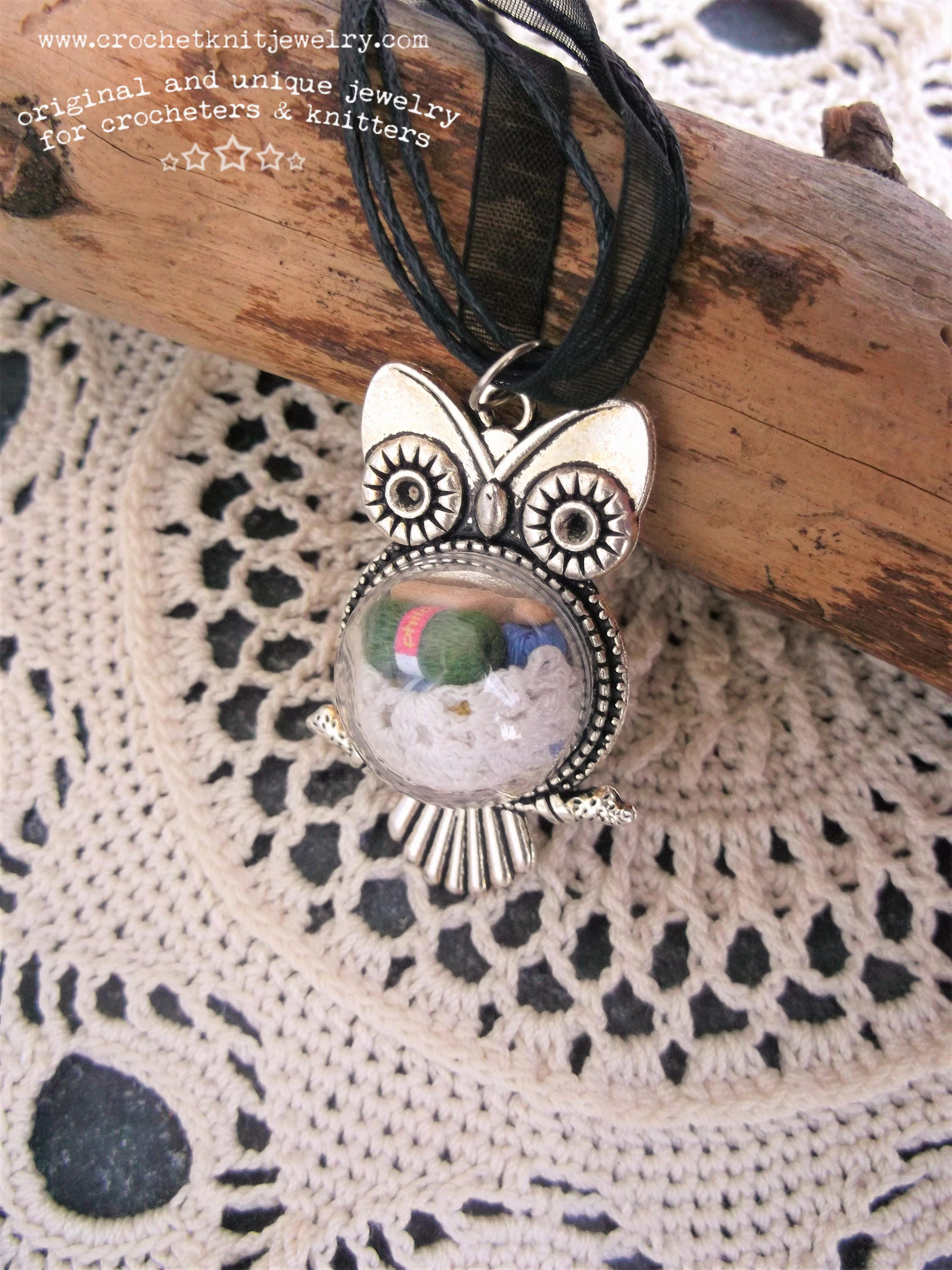 handmade unique wrapped necklace pendant girlfriend stone jewelry gift lover moon girl il wood listing fullxfull natural