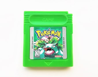 Pokemon Green Version Nintendo Game Boy Color (GBC GBA) - Red Blue Yellow (English Fan Translation) Gameboy