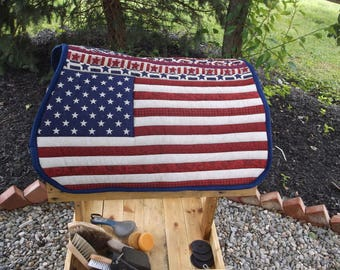 Country American Flag All Purpose Pad