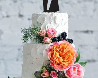 Captain wedding cake topper, aviator cake topper, custom wedding cake topper, Bride and Groom Wedding Cake Topper, wedding cake topper