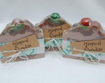Tropical Paradise Handmade Soap