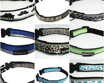Vibrant Reflective Dog Collar