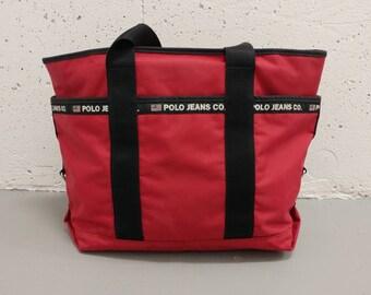 Ralph Lauren Polo Jeans Co Bag 90s Handbag Vintage Ralph Lauren Bag