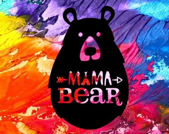 Mama Bear Decal / Mama Bear Car Decal / Car Decal