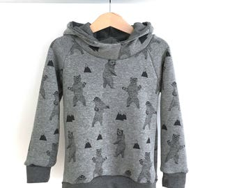 Warm for baby and child bear Hoody