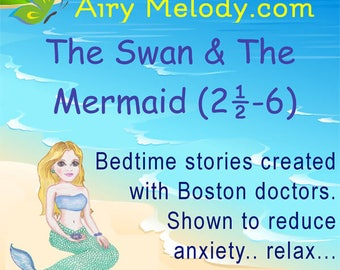 The Swan And The Mermaid CD: Audio bedtime stories for children (Ages 2.5 - 6) (43% OFF)