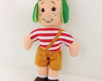 """14"""" El Chavo del Ocho Plush Plushes Toys El Chavo del 8 Stuffed Dolls La Vecindad del Chavo"""