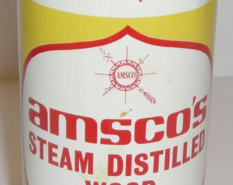 Vintage Union 76 Amsco's Steam Distilled Wood Turpentine Can