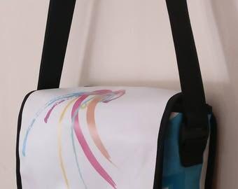 Medium Messenger bag, men's bag, women's bag, recycled, 3001003