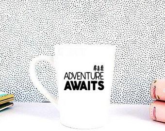 Adventure Awaits Coffee Cup