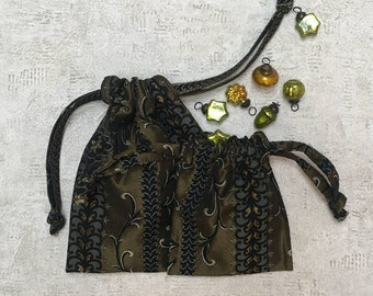 smallbags Christmas made of bronze - 2 sizes - reusable bags - zero waste fabric
