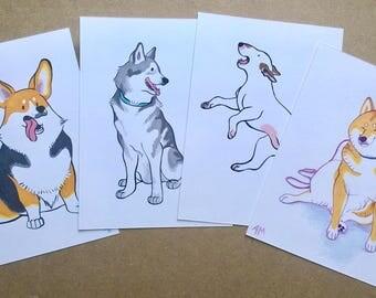 Dogs - Original Marker Illustrations