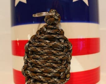 550 Paracord Grenade Keychain