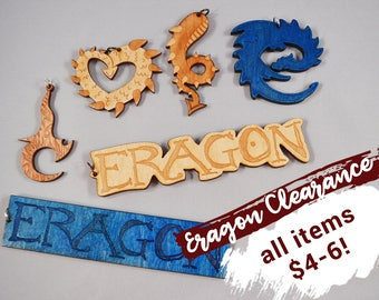 CLEARANCE: Eragon keychains and necklaces with a large discount! - Eragon and Inheritance Cycle fans