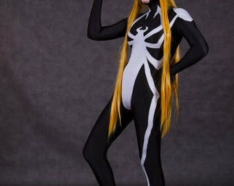 DC comics Arachne cosplay costume halloween +WIG spider-women