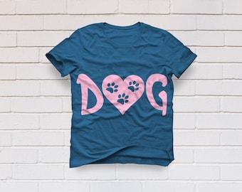 Dog svg, Paw svg, Dog clipart, Pet love svg, Fur mama svg, Dog mom svg, Adopt svg, Rescue dog svg, Cricut, Cameo, Clipart, Svg, DXF, Png Eps