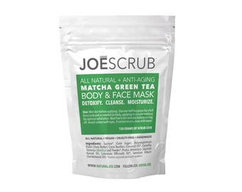 JOESCRUB Matcha Body & Face Mask (150g)