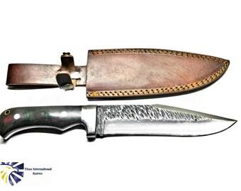 High Carbon 1080 Custom Knife by Dany : Titan TC-001