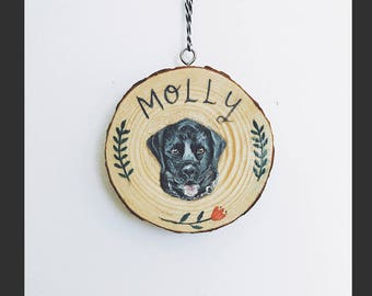 Bespoke / Custom Pet Portrait on Wood