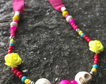 Disney Pixar Coco Day of the Dead Inspired Necklace