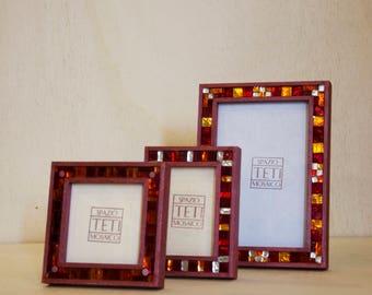 Mosaic photo frame album handmade