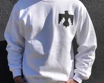 White Thunderbird Crewneck Sweatshirt