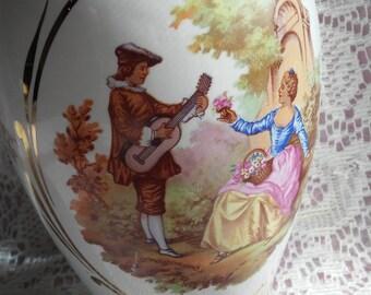 French Porcelain Vanity Jar/Decanter