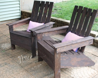 Reclaimed Wood Adirondack Chair