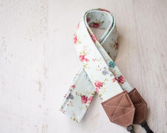 READY TO SHIP, floral camera strap, camera strap, dslr camera strap, womens gift, photographer gift, nikon camera strap, camera accessory