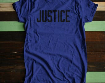 Women's Justice Support the ACLU tee! Donation T-shirt American Civil Liberties Union anti-trump - donates 20% | charity sizes XS - XXL