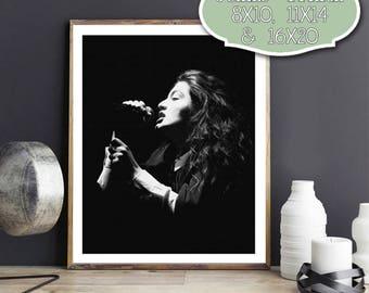 Lorde, Music, Art, Digital Art, Wall Art, Digital Art Download, Drawing, 8x10, 11x14, 16x20, Poster