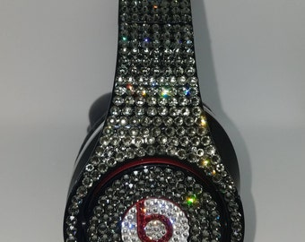 Crystal Customized Beats by Dre Headphones