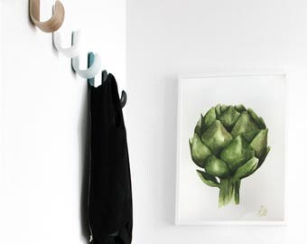 Artichoke watercolor painting - Print from original