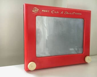 Vintage 1980's Etch A Sketch - Ohio Art - The World of Toys -