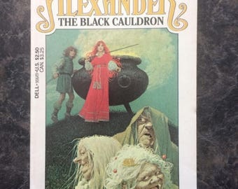 The Black Cauldron Novel - Written by Lloyd Alexander