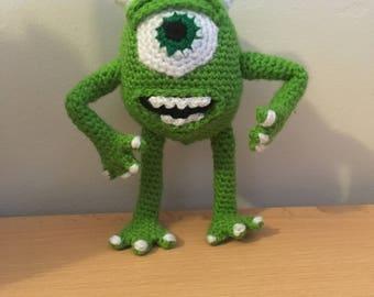 Amigurumi Mike Wazowski - Monsters Inc