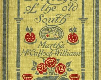 Vintage 1910s Digital PDF Download eBook, Dishes & Beverages of the Old South Cookbook, Edwardian Cooking, Southern Cuisine