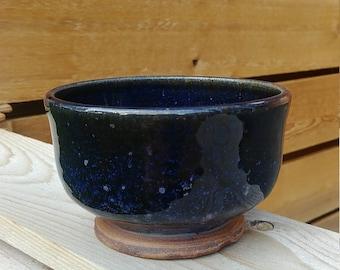 Dark Blue Starry Matcha Chawan